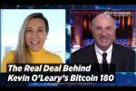 Shark Tank's Kevin O'Leary On His Bitcoin 180