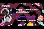 Evolution of Ethereum Consensus