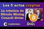Les 5 actus cryptos de la semaine: minage de Bitcoin, Apple, PayPal et Robinhood, Iran, StopElon
