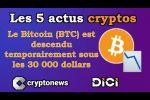 Les 5 actus cryptos de la semaine: Bitcoin, McAfee, Banque de France, New York, Deutsche Telekom