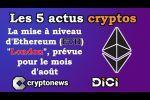 Les 5 actus cryptos de la semaine: Ethereum, Visa, JP Morgan, Binance, piratage Cryptopia